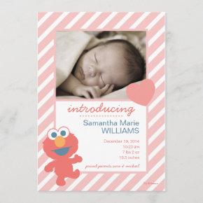 Elmo Birth Announcement