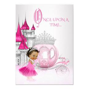 Ethnic Cinderella Princess Birthday Party Card