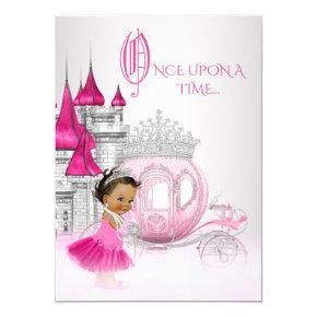 Ethnic Cinderella Princess Birthday Party Invitations