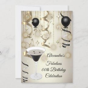 Fabulous Espresso Martini Cocktail Party Invite
