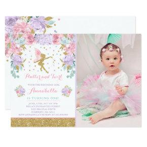 Fairy Birthday Invitations Whimsical Magical Party