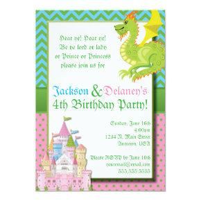 Fairy Tale Party Invitations