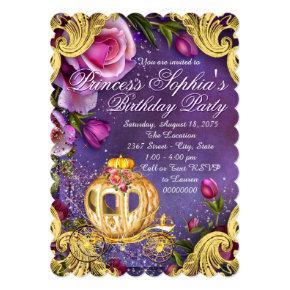 Fairy Tale Princess Birthday Party Invitations