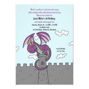 Fairy Tales Dragon Invitations