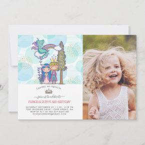 Fairytale Party Invitation | Prince & Princess