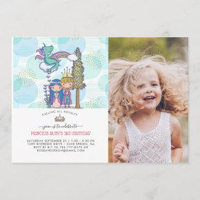 Fairytale Party Invitations | Prince & Princess