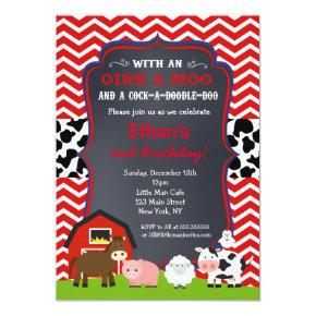 Farm Barnyard Birthday Party