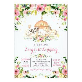 farm Birthday Invitation, farm birthday invitation