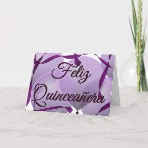 Feliz Quinceañera - Happy 15th Birthday Invitation