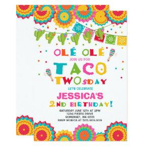 tacos birthday invitations candied clouds