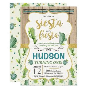 Fiesta Birthday Invitation Fiesta 1st Birthday