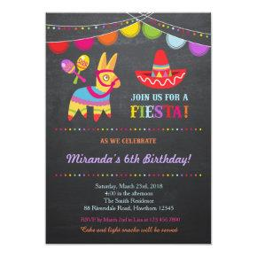 Fiesta Birthday Invitation / Fiesta Invitation