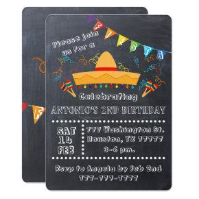 Fiesta Invitations, Fiesta Party, Fiesta Birthday Invitations