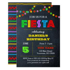 Fiesta Lights All Occasion Invitation