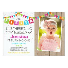Fiesta Mexican Birthday Party Invitation