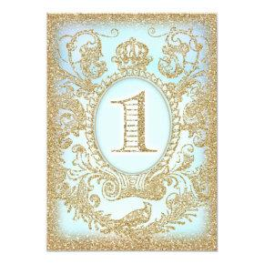 First Birthday Once Upon a Time Prince Invitation