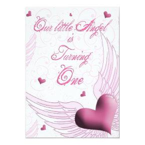 First Birthday - OurLittle Angel Invitation
