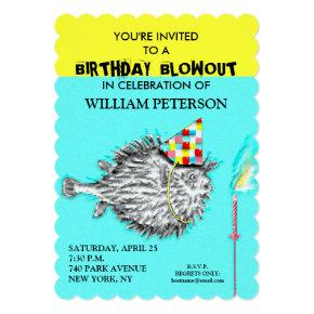 FISHERMAN BIRTHDAY PARTY INVITATIONS