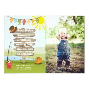 Fish Birthday Invitations Candied Clouds