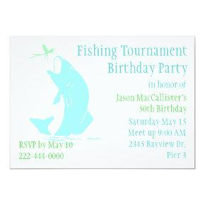 Fishing Birthday Party Invitation