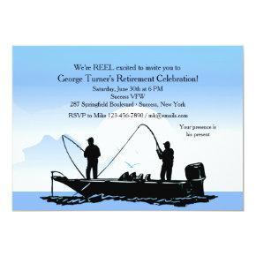 Fishing Buddies Invitations