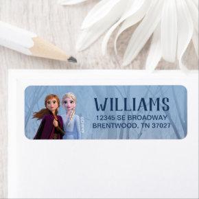 Frozen 2 - Anna & Elsa Label