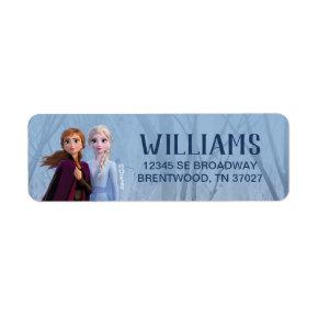 Frozen 2 - Anna & Elsa Label