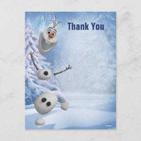Frozen Olaf | In Pieces Thank You Note Invitations