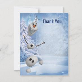 Frozen Olaf | In Pieces Thank You Note