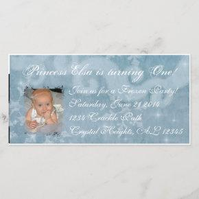 Frozen Princess Elsa Invitation