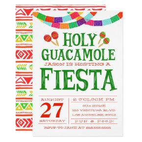 FUN FIESTA INVITATION! CARD