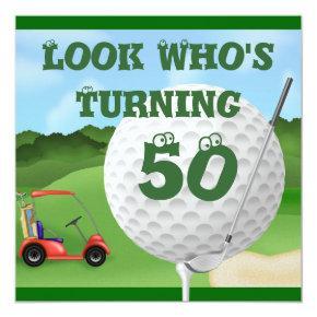 Fun Golf 50th Birthday