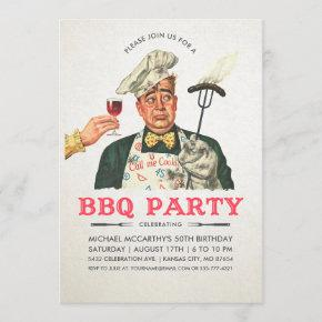 Funny BBQ Party  | Birthday | Vintage