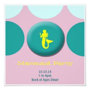 Girl Birthday - mermaid Card