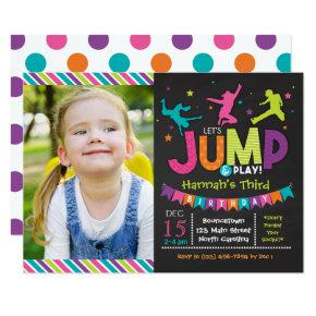 Girl Jump & Play Bounce House Birthday