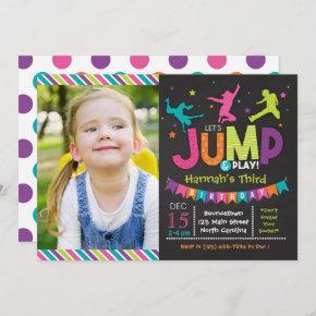 Girl Jump & Play Bounce House Birthday