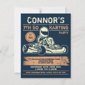 Go Karting Birthday Party