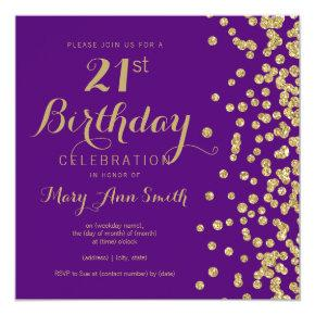 Twenty First Birthday Invitations Candied Clouds
