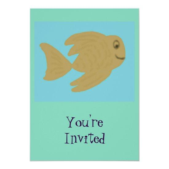 Goldie fish baby shower invitations candied clouds goldie fish baby shower invitations filmwisefo