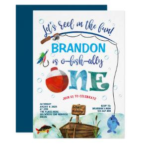 Gone Fishing, O-fish-all, The big One, 1st Invitation