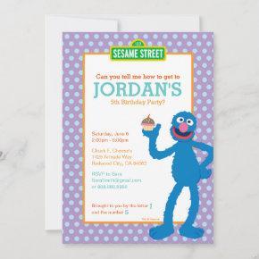 Grover Birthday Invitation