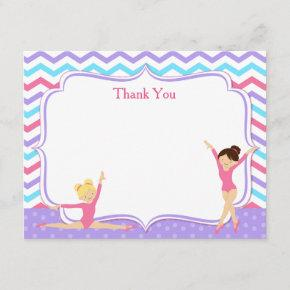 Gymnastic Thank You Notes