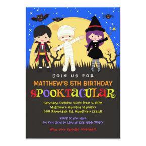Halloween Birthday Invitations / Halloween Invite