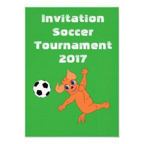 Happy Soccer by The Happy Juul Company Invitation
