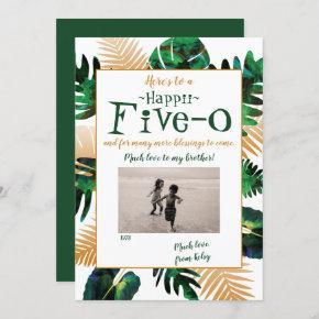 Hawaii Five-0 50th Birthday