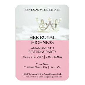 Her Royal Highness Invitations