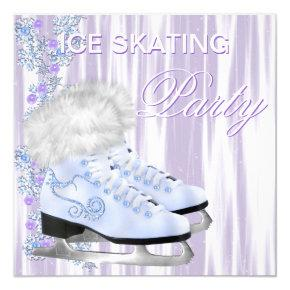 Ice Skating Party Invitations