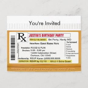 Invitation | RX Prescription for Fun