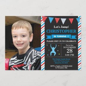 Jump Invitation Trampoline Birthday Party