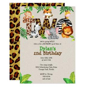 Jungle 2nd Birthday Party